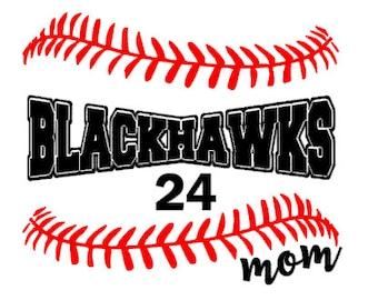 Custom School Baseball or Softball laces personalized shirt