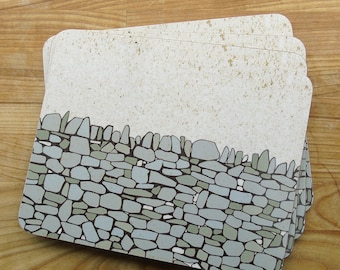 Drystone Wall Placemats (Set of 4)