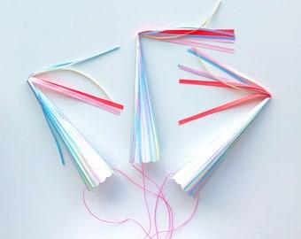 Holographic Unicorn Horns - unicorn birthday rainbows glitter party hats