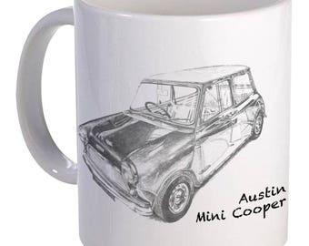 Austin Mini Cooper Mug