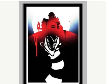 20% OFF SALE WOW Beetlejuice Poster - 24x36