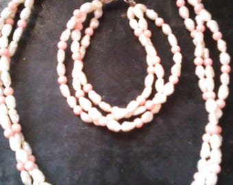 Freshwater Pearls and Coral