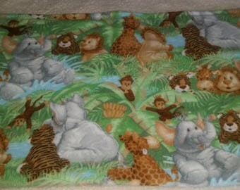 Jungle Animal Baby Blanket