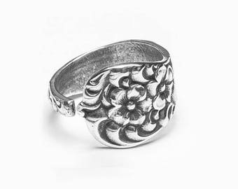 """Spoon Ring: """"Charlotte"""" by Silver Spoon Jewelry"""