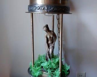 Vintage Goddess Rain Lamp