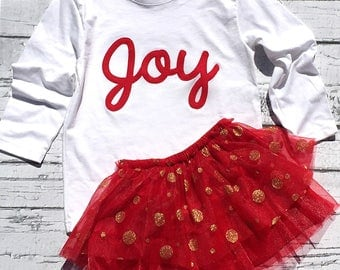 Christams. Joy.Matching Brother And Sister.Siblings.Shirt.Bodysuit.Photo Prop.