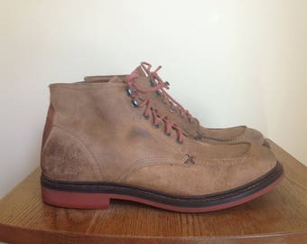 SALE!!! Frye leather suede chukka ankle boot size marked 11 (Fit like 12) see measurements