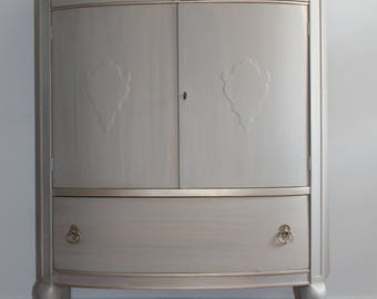 Grey Chest/Tall Dresser/Bureau/Armoire