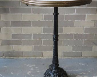 French Marble Top Bistro Tables Two Available