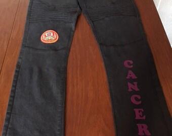 """Girls Zodiac """"Cancer"""" Jeans"""