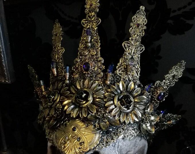 Golden Halo headdress READY MADE