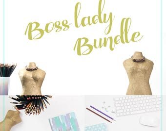 Stock Photo Bundle - Social Media Marketing - Blog Image - Fashion Lady Photo - Facebook Cover Photo - Workspace - Instant Download