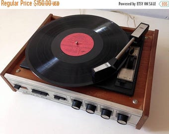 "ON SALE Turntable ,vinyl record player ,technics turntable, Record player, vinyl record, Working Turntable , working record player, ""accord"