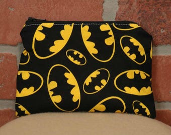 One Snack Sack, Batman, Reusable Lunch Bags, Waste-Free Lunch, Machine Washable, Back to School, School Lunch, item #SS56