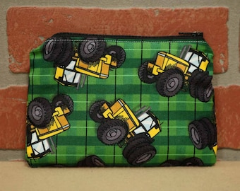 One Snack Sack, Tractor, Reusable Lunch Bags, Waste-Free Lunch, Machine Washable, Back to School, School Lunch, item #SS56