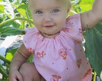 Strawberry Shortcake Baby Sunsuit Romper