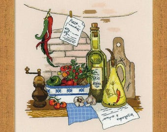 Still Life with Pepper - Cross Stitch Kit from RIOLIS Ref. no.:1304