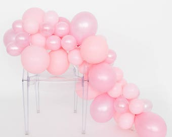 Balloon Garland Kit - Bubble Gum Pink - Pink Party Balloons - Pink Balloon Garland -  Baby Shower Balloons