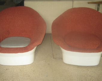 Space Age Mod Lounge Chairs