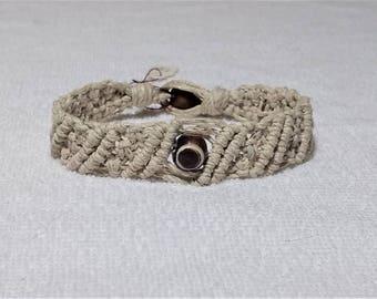 Macrame Natural Hemp Bracelet