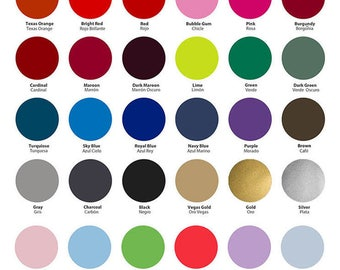 "SISER EASYWEED HTV 15"" x 12"" sheets Cameo Cricut 39 colors"