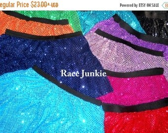 Christmas in July Sale Sparkly Skirts  17 different Colors Running Skirt