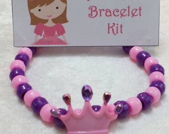 PARTY PACK Princess Tiara Bracelet Craft Kit