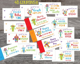 coupon book template for husband - love coupons etsy