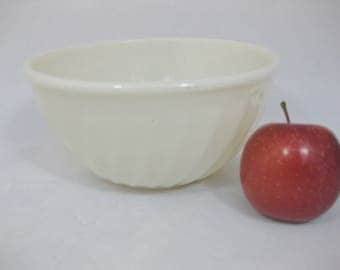 "Fire King Oven Ware Milk Glass Mixing Bowl, 8"", Milk Glass Nesting Bowl"