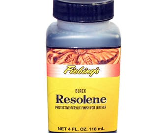 Fiebing's Black Resolene 4 oz