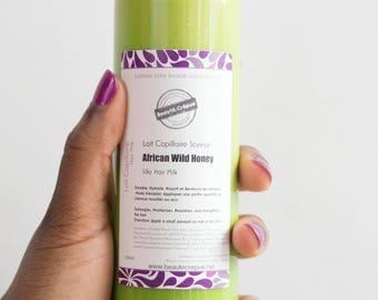 Silky Hair Milk ''African Wild Honey'' - 100ml | Travel Size