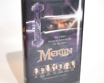 Vintage Merlin VHS Movie