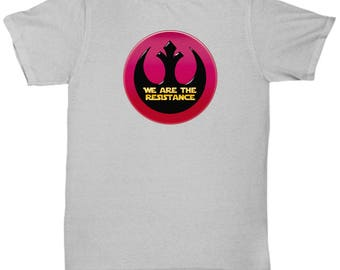 Star Wars We are Resistance Shirt Gift for Nerds Jedi Rebel Alliance Resist