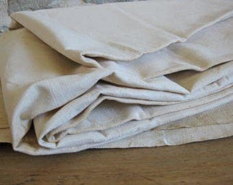 French metis fabric unused linen union sheet fabric