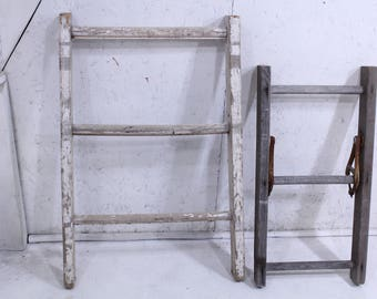 Choose From 2 Old Vintage Ladders Country Decorating