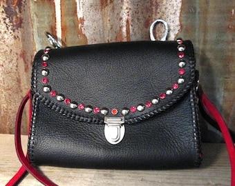 Leather Adventure Bag Belt Bag Leather Bag Hand Made