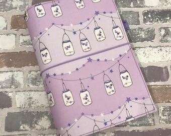 Fabric Fauxdori -Fabric Travelers Notebook - Various  Sizes -Made to Order