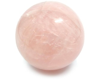 40mm Rose Quartz Sphere, Pink Quartz Gemstone Sphere 4cm Polished Specimen, Pink Rose Quartz Gem Sphere 40mm, Rose Quartz Gemstone Sphere