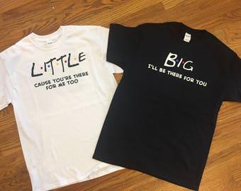 Set of Friends Inspired Sorority Shirts!