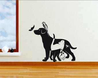 Animal Wall Decal Etsy - Sporting wall decals