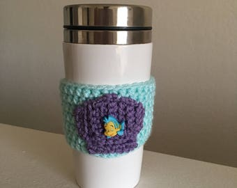 Ariel The Little Mermaid Inspired Cup Cozie