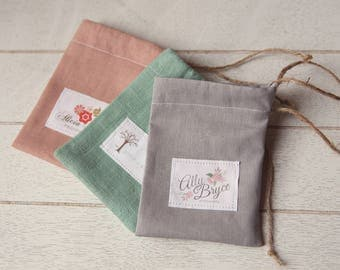 25 Chic Linen Gift Bags