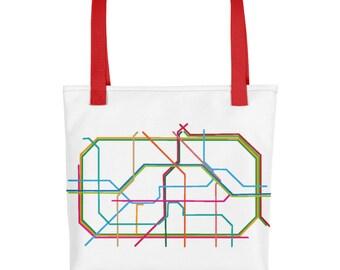 Berlin Subway Tote bag