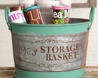No. 3 Large Storage Basket