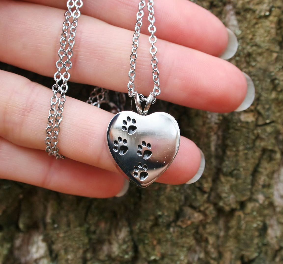 4 paws on my heart pet cremation jewelry for ashes urn for Cremation jewelry for pets ashes