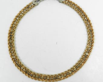 Vintage BOUCHER Signed Numbered Necklace For Repair, Jewelry for parts or repair, Broken Necklace for Repair Only, REP01