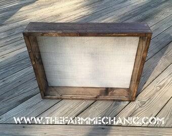 28x24 Shadow Box EXTRA Deep Shadow Box 8 inches Deep, Display Case