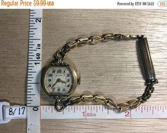 10% OFF 3 day sale Vintage Elbon Women's Wrist Watch Gold Toned Non Working Used
