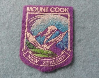 Mount Cook, New Zealand Vintage       Patch