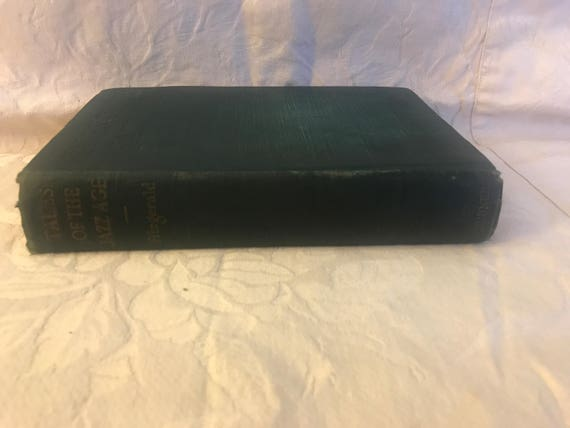 Fitzgerald First Edition Tales Of The Jazz Age